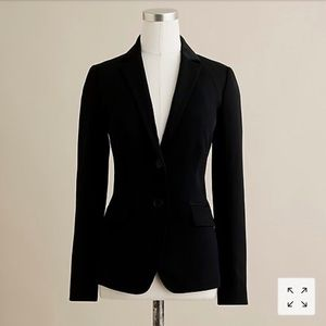 Jcrew 100% wool gabardine blazer